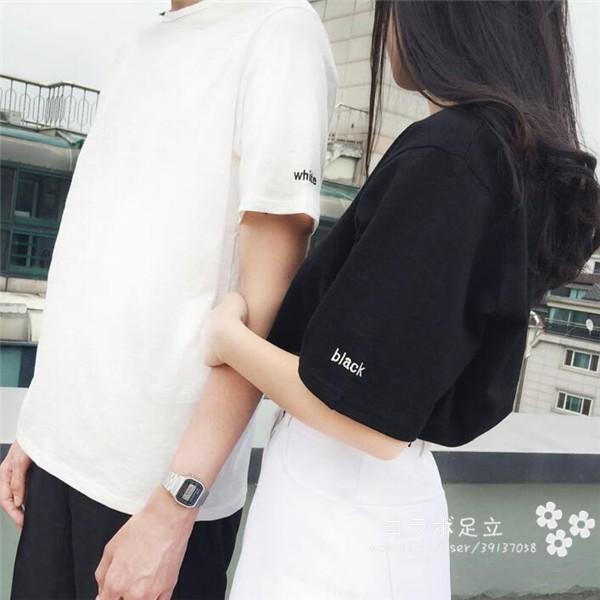 送料無料!Tシャツ ペアルック カットソー 半袖  ...
