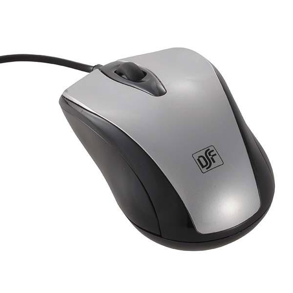 マウス 有線 光学式マウス Mサイズ シルバー PC-S...