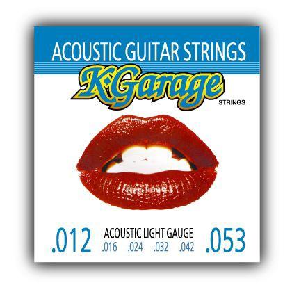K.GARAGE アコースティック弦 012-053