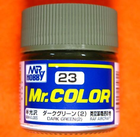 【遠州屋】 Mr.カラー (23) ダークグリーン (2)...