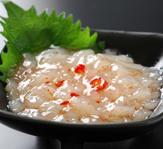 帆立塩辛300g 北海道産の原料使用