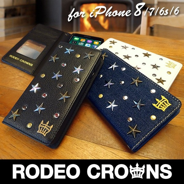 iPhone8 iPhone7/6s/6 【RODEOCROWNS/ロデオクラ...