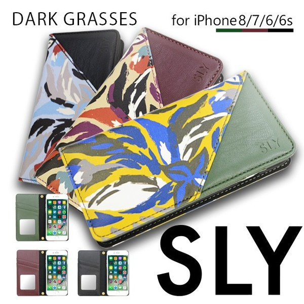 iPhone8 iPhone7/6s/6 【SLY/スライ】 「DARK GRA...