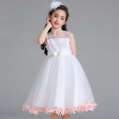 0bc5429cb3176 1万円以上送料無料 110-160CM 子供ドレス キッズドレス ワンピース バラ ...