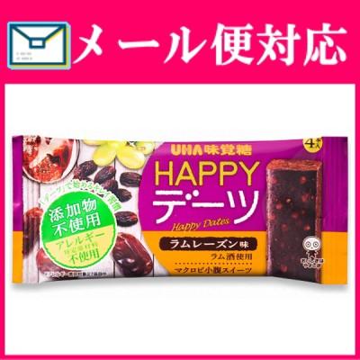 HAPPYデーツ ラムレーズン味 (4本入り)×1袋