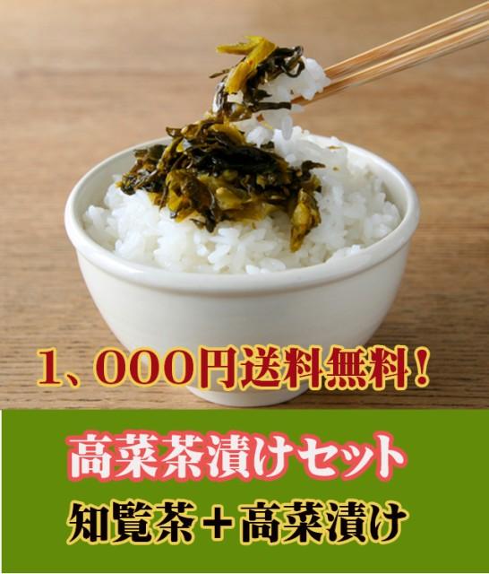 【1000円ぽっきり 送料無料】鹿児島 高菜茶漬け...