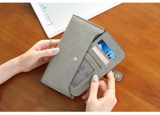 長財布 大容量 レディース 財布 小銭入れあり さ...