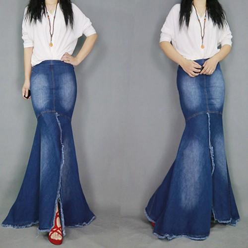 魅力性いっぱいのスカート デニムスカート  マ...