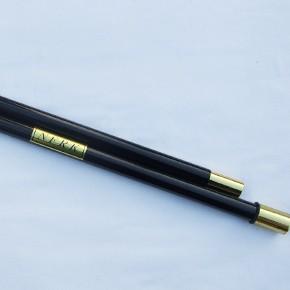 二段式カラー筒、黒メタリック(レクリエーション...