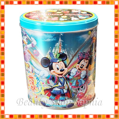 ミッキー&フレンズ 缶入りチョコレートクランチ ...