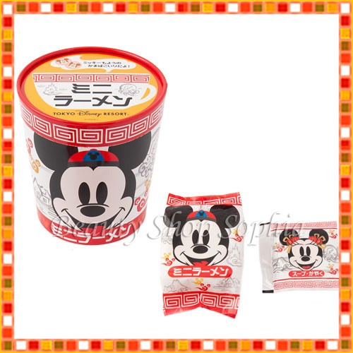 ミッキーマウス ミニーマウス ミニラーメン  お菓...