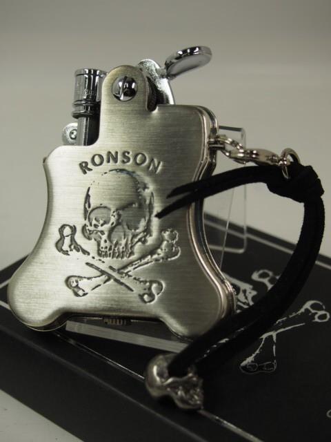 限定 RONSON ロンソン・バンジョー/スカル  銀古...