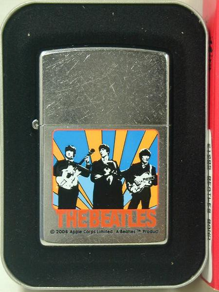 2006 Zippo Beatles Band 若き日の4人 #207 ビー...