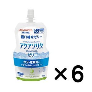 アクアソリタゼリー AP りんご風味(130gx6個...