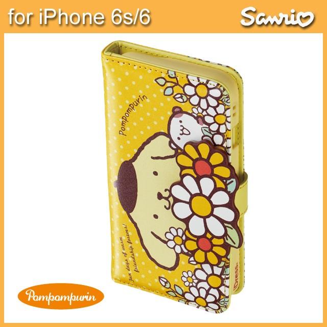 iPhone6s iPhone6 ポムポムプリン ダイカットカバ...