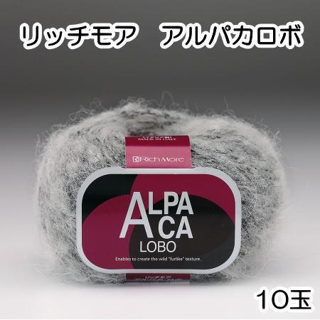 2017新商品 秋冬毛糸 リッチモアアルパカロボ 1...