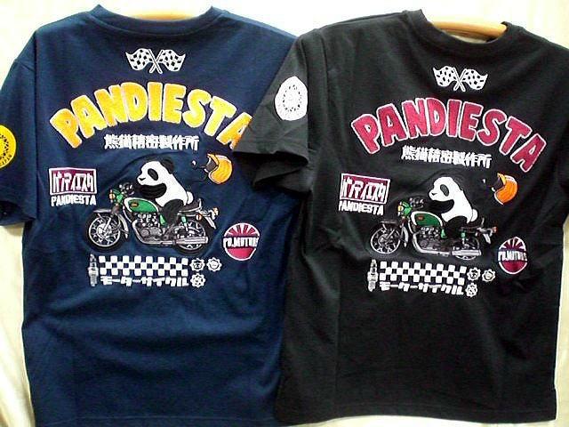 PANDIESTA JAPAN 半袖Tシャツ 熊猫モーターズ ...