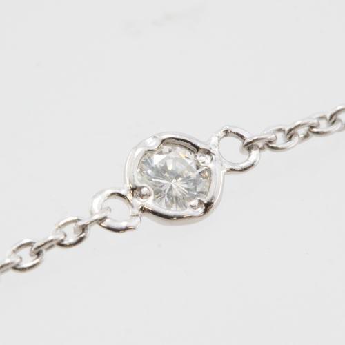 レディース ブレスレット 一粒石 ダイヤモンド...