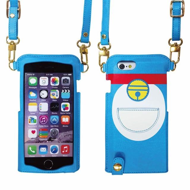 """ドラえもん iPhone 6/6s (4.7 """")  レザーケース..."""