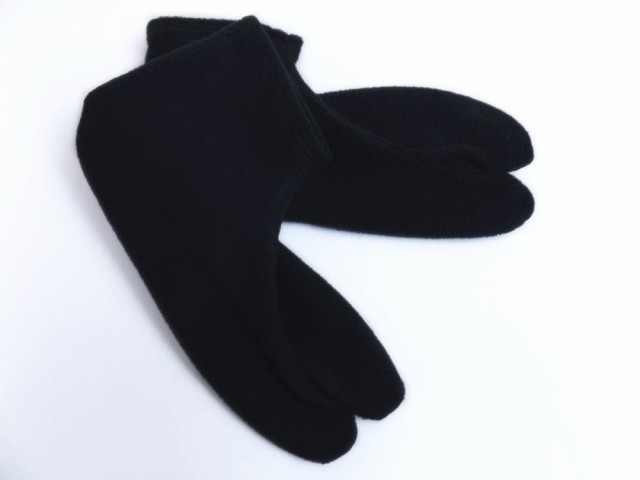 冬用あったかストレッチフリース足袋(滑り止付)...