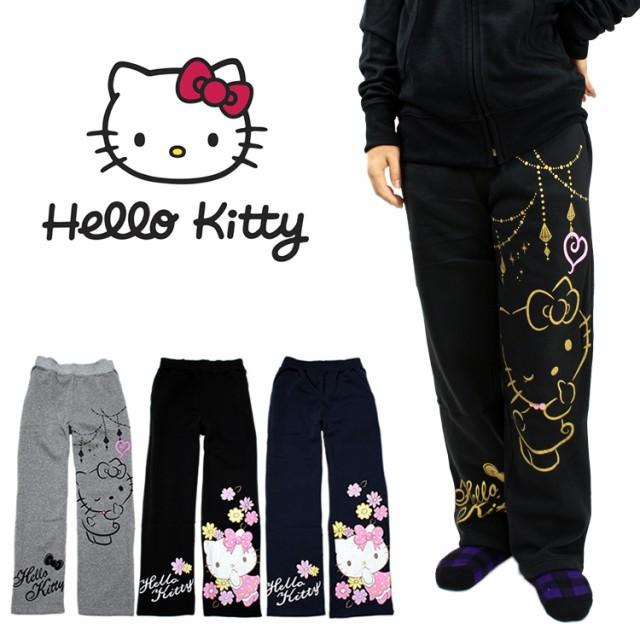 Hello Kitty ハローキティ レディース 裏起毛 ス...