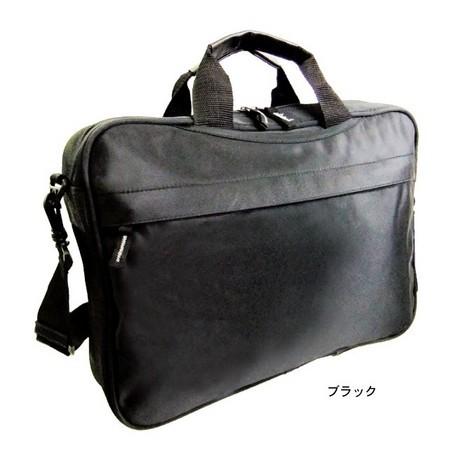 ビジネスバッグ A4サイズ シンプル ブラック ...