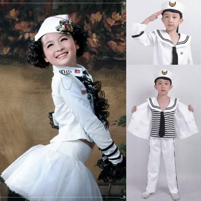 ハロウィン 衣装 子供 海軍 コスプレ衣装 ハロウ...