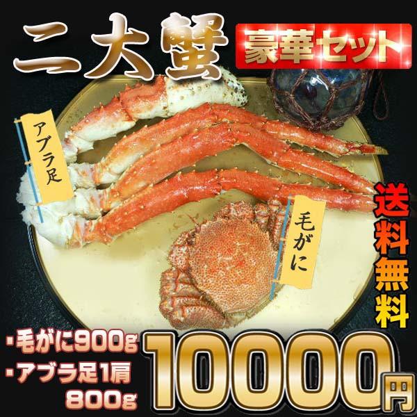 【送料無料】北海二大カニ福袋  業務用/足/大盛...