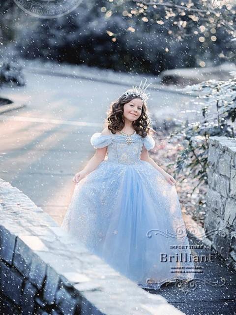 クリスマス 女の子 ドレス 子供ドレス シンデレラ...