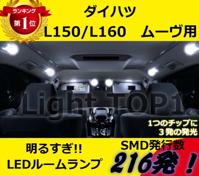 【メール便送料無料】ムーヴL150/L160用ムーブ LE...