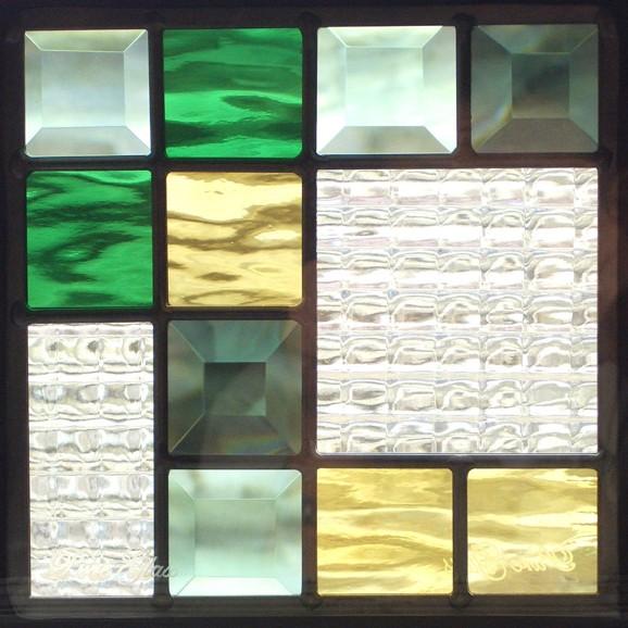 本物のステンドグラス ピュアグラス SH-D08190...