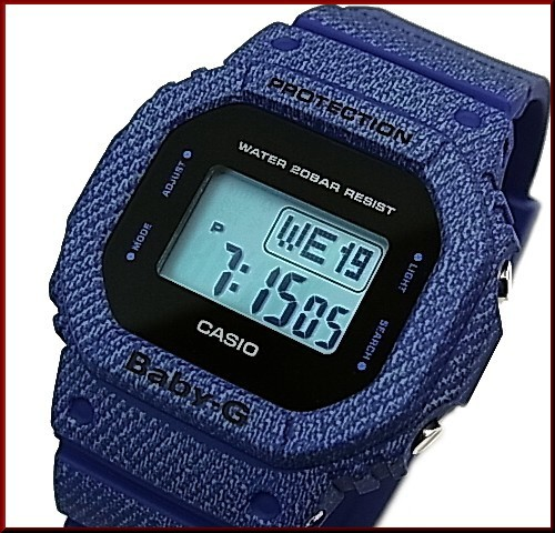 カシオ/Baby-G【CASIO】ベビーG DENIM'D COLOR/...