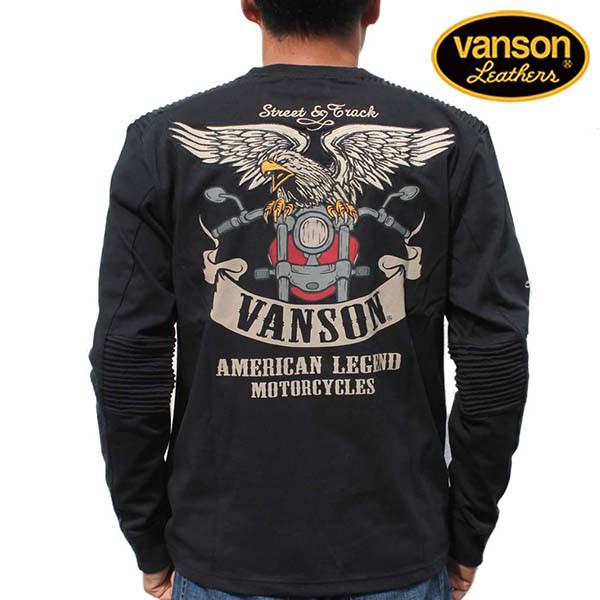 バンソン ロンT VANSON メンズ 長袖Tシャツ ロン...
