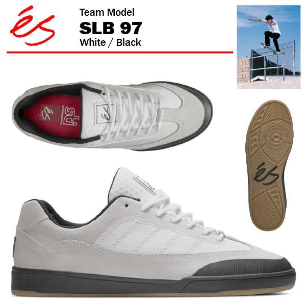 エス SLB 97 ホワイト/ブラック スケート スケー...