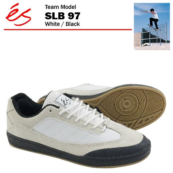 エス SLB 97 ホワイト/ブラック/27cm スケート ス...