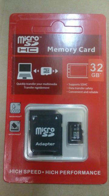 マイクロSDカード 32GB 変換アダプタ付き