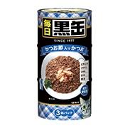 【アイシア】毎日 黒缶 かつお節入りかつお 1...