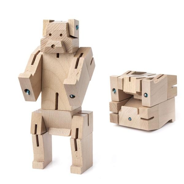 キッカーランド スクエアベア クマのオブジェ 3D...