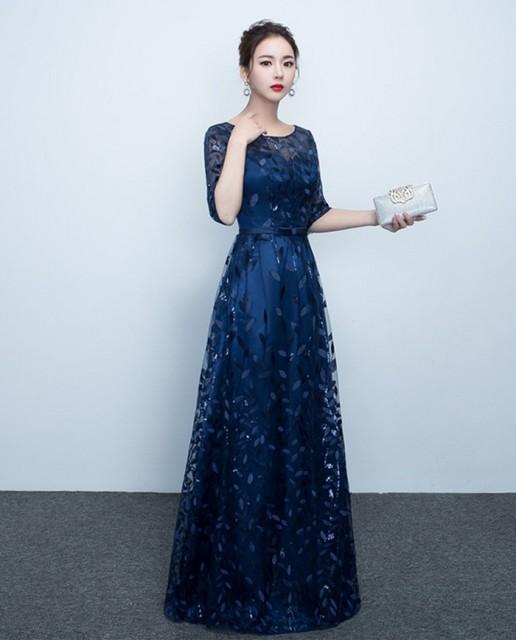 人気新品 贅沢なロングドレス パーティードレス ...
