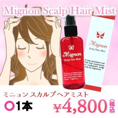 Mignon〜ミニョン スカルプ ヘアミスト〜1本