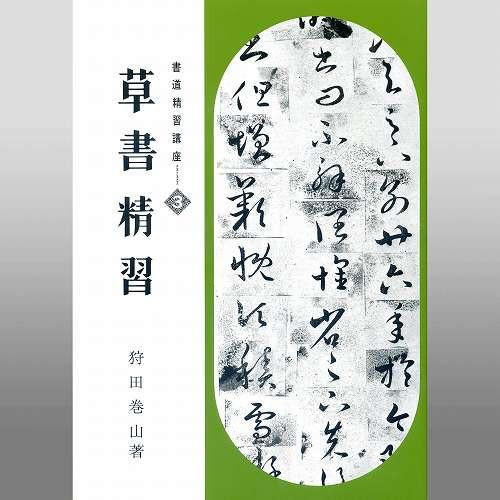 810047 草書精習 A4判 160頁  日本習字普...