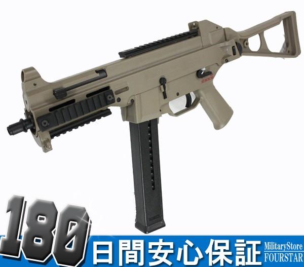 【特別セール】S&T UMP Competition 電動ガン TAN...