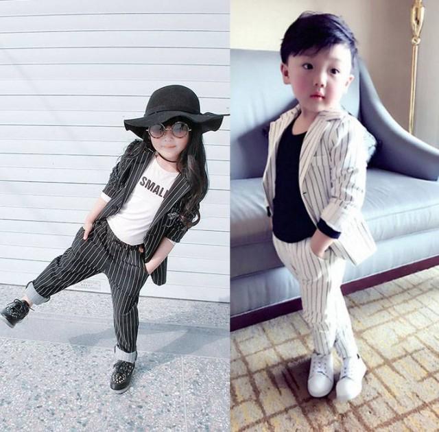 韓国子供服 長袖  スーツセットフォーマルアウタ...