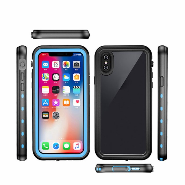iphone X ケース iphone X 防水カバー防水保護等...