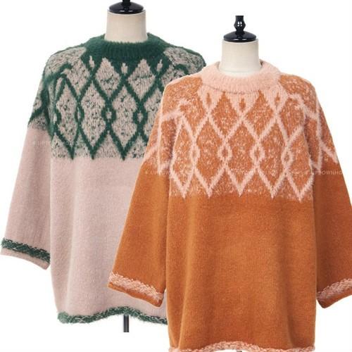 ボリューム袖のセーター【お取り寄せ商品】