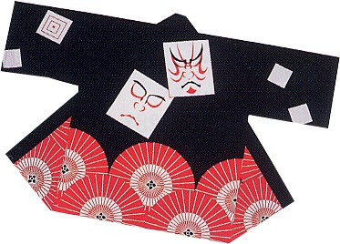 は-9243 祭・踊り半天 (日本の歳時記・祭・踊...