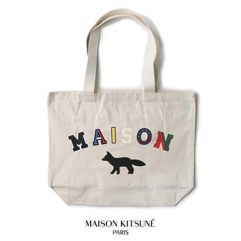 MAISON KITSUNE メゾンキツネトートバッグ TOTE B...
