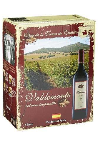 箱ワイン バルデモンテ レッド 3L ボックスワイン...