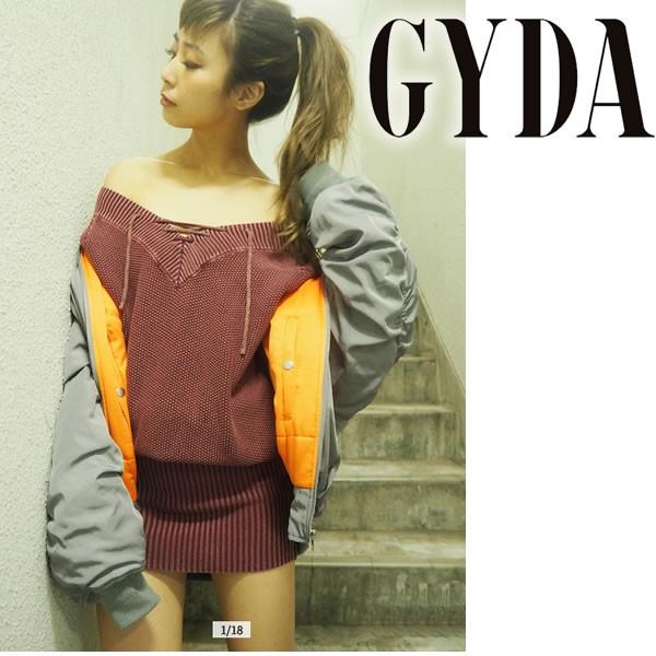 【セール】GYDA ジェイダ レースアップブリーチニ...