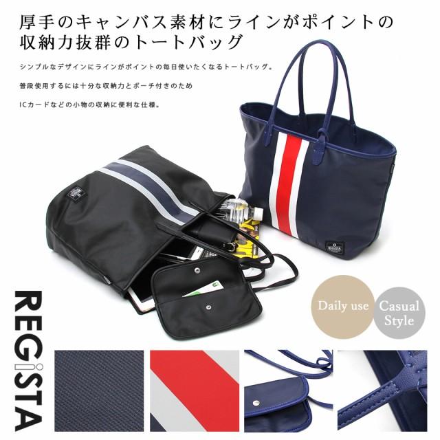 新作!【REGiSTA】LINE PRINT TOTE BAG  /バッグ...